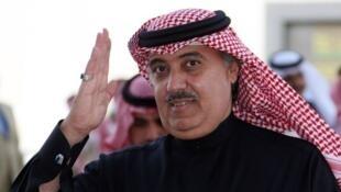 Le prince Miteb ben Abdallah, fils du défunt roi, à al-Janadriyah, le 15 février 2008.