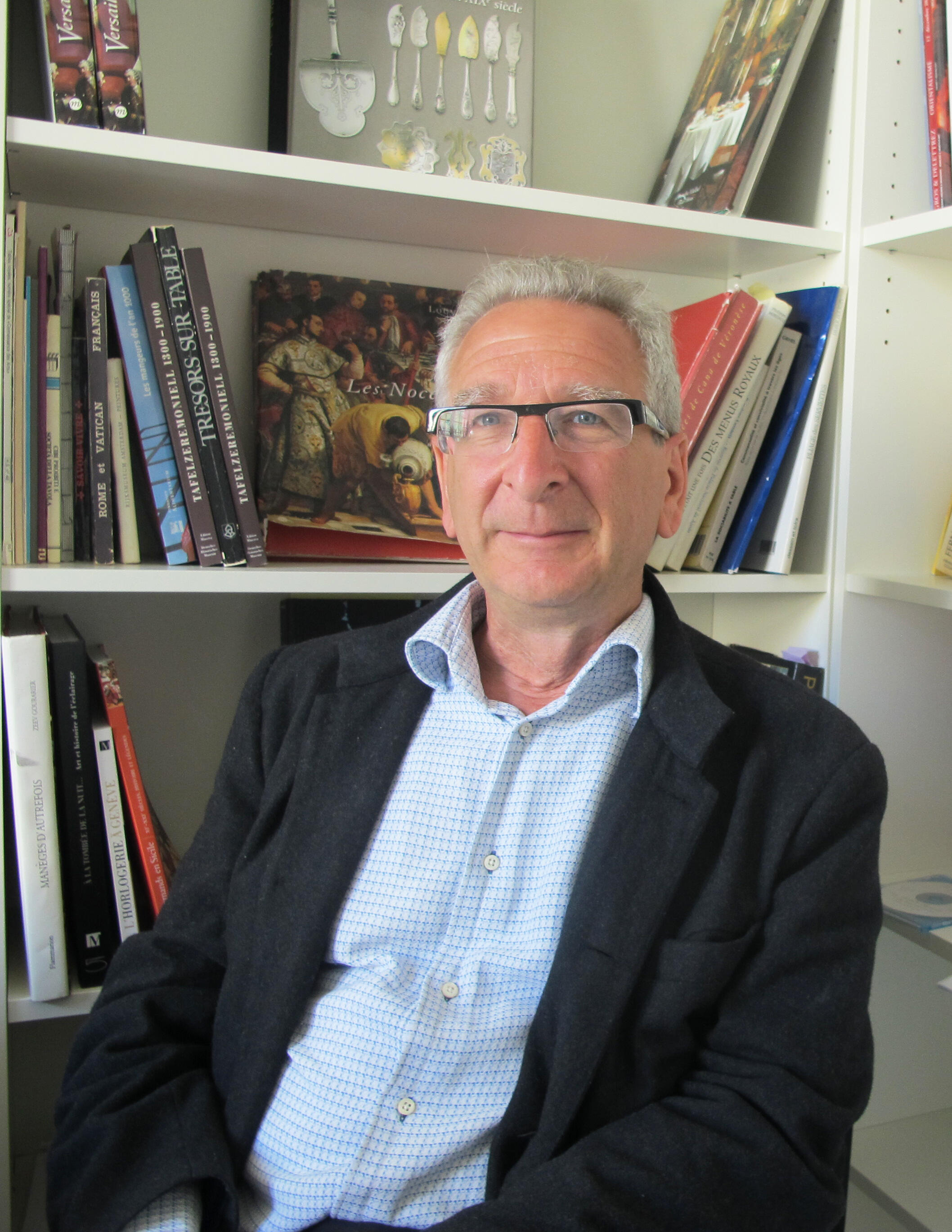 Zeev Gourarier, directeur scientifique du Mucem à Marseille.