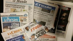 Primeiras páginas jornais 30/10/2017