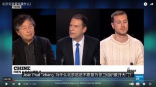 法国二十四小时电视台电视辩论节目:中国究竟要隐瞒什么?