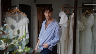 Spanish fashion designer Nicolas Montenegro ear;ier worked at Italian fashion house Dolce & Gabbana