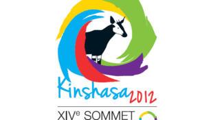 Logo de XIVe sommet de la Francophonie, Kinshasa 2012.