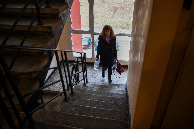 A Pernik, près de la capitale bulgare Sofia, 97000 personnes sont privées d'eau potable.