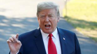 Le président américain s'est adressé aux médias, ce mardi 10 juillet, avant de s'envoler pour l'Europe où il assistera au sommet de l'Otan, mercredi, à Bruxelles.