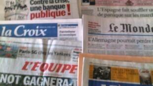 Capas dos jornais de 24/07/12
