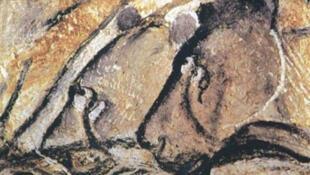 Pintura en la Cueva de Chauvet.