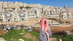 شهرک یهودی در کرانۀ غربی رود اردن.