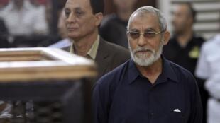 Líder supremo da Irmandade Muçulmana, Mohamed Badie.