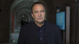 Domenico Lucano, maire de Riace en Italie.