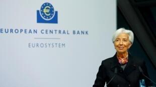 Christine Lagarde, nouvelle présidente de la Banque centrale européenne.