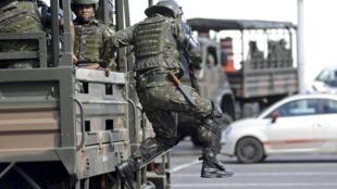 El gobierno brasileño envió a Bahía más de 5.000 efectivos de las tropas federales con el objetivo de restablecer el orden.