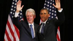 អតីតប្រធានាធិបតីអាមេរិក លោក Bill Clinton  មកជួយគាំទ្រលោកអូបាម៉ា