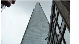 The Shard, le gratte-ciel de Londres.