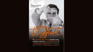 Cartaz da homenagem feita da Cinemateca Francesa à François Truffaut