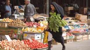 Le marché d'Islamshahr, à 50 kilomètres de Téhéran.