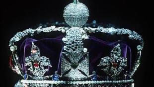 La couronne impériale d'apparat, l'un des joyaux de la Couronne britannique.