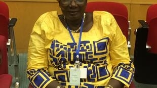 Mama Koite Doumbia, co-director of the Trust Fund for Victims