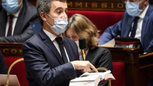 """Darmanin Assemblée nationale France loi """"sécurité globale"""""""