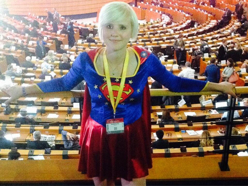 Madeleina Kay, la jeune Anglaise anti-Brexit.