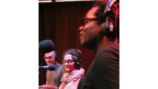 Maya Kamaty et Ricardo Lemvo à RFI.