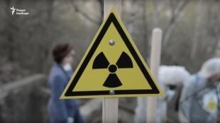 Могильник радиоактивных отходов неподалеку от железнодорожной платформы Москворечье