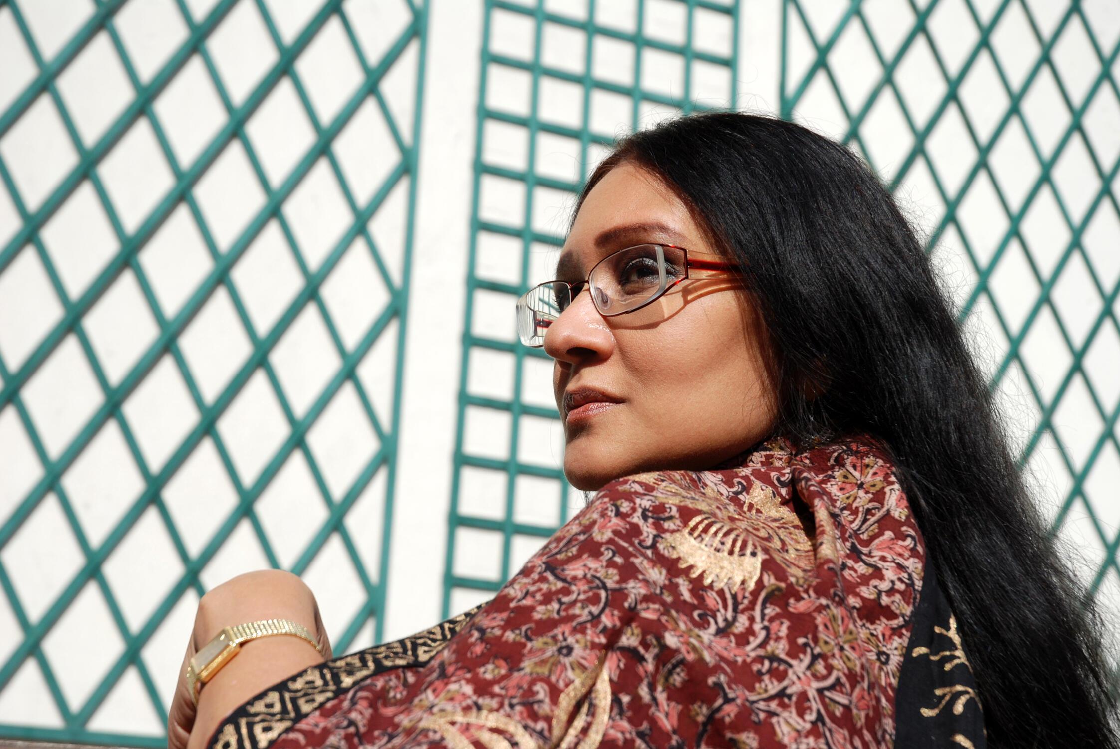 Ananda Devi, femme de lettres mauricienne et une des écrivains les plus primées de l'univers francophone.