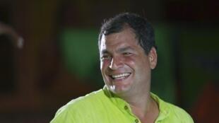 Muchos ecuatorianos piensan que Rafal Correa será reelecto en primera vuelta para un nuevo período.