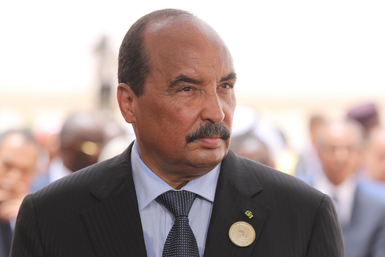 Le président Mohamed Ould Abdel Aziz le 2 juillet 2018 à Nouakchott.