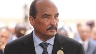 Rais Mohamed Ould Abdel Aziz Julai 2, 2018 Nouakchott.