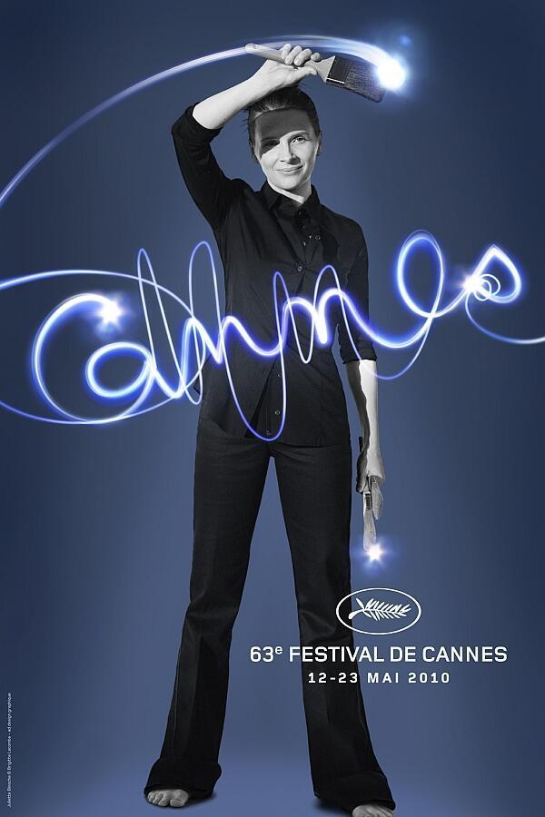 Cartaz oficial da edição 2010 do Festival de Cannes.