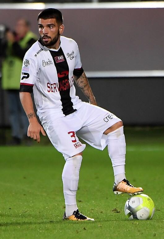 Pedro Rebocho, lateral esquerdo português do Guingamp.
