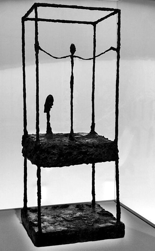 """قفس"" اثر ""آلبرتو جاکومِتی"" -  ١٩۵٠"