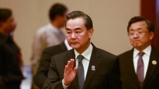 中國外長王毅出席緬甸東盟會議2014年8月9日內比都國際會議中心