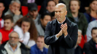 Kocin Real Madrid, Zinedine Zidane.
