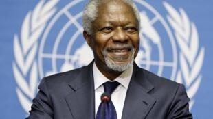 Kofi Annan não mediu esforços nem palavras para arrancar um acordo do grupo internacional.