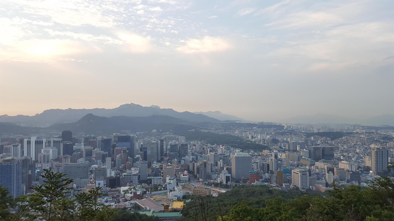 Vue générale de Séoul