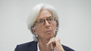 La directrice générale du FMI, Christine Lagarde, le 20 décembre 2017 à Londres.