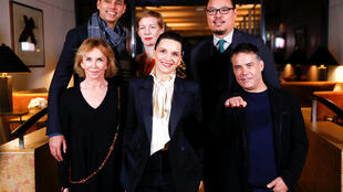Các thành viên ban giám khảo Liên hoan phim quốc tế Berlin, Berlin, ngày 6/2/2019.