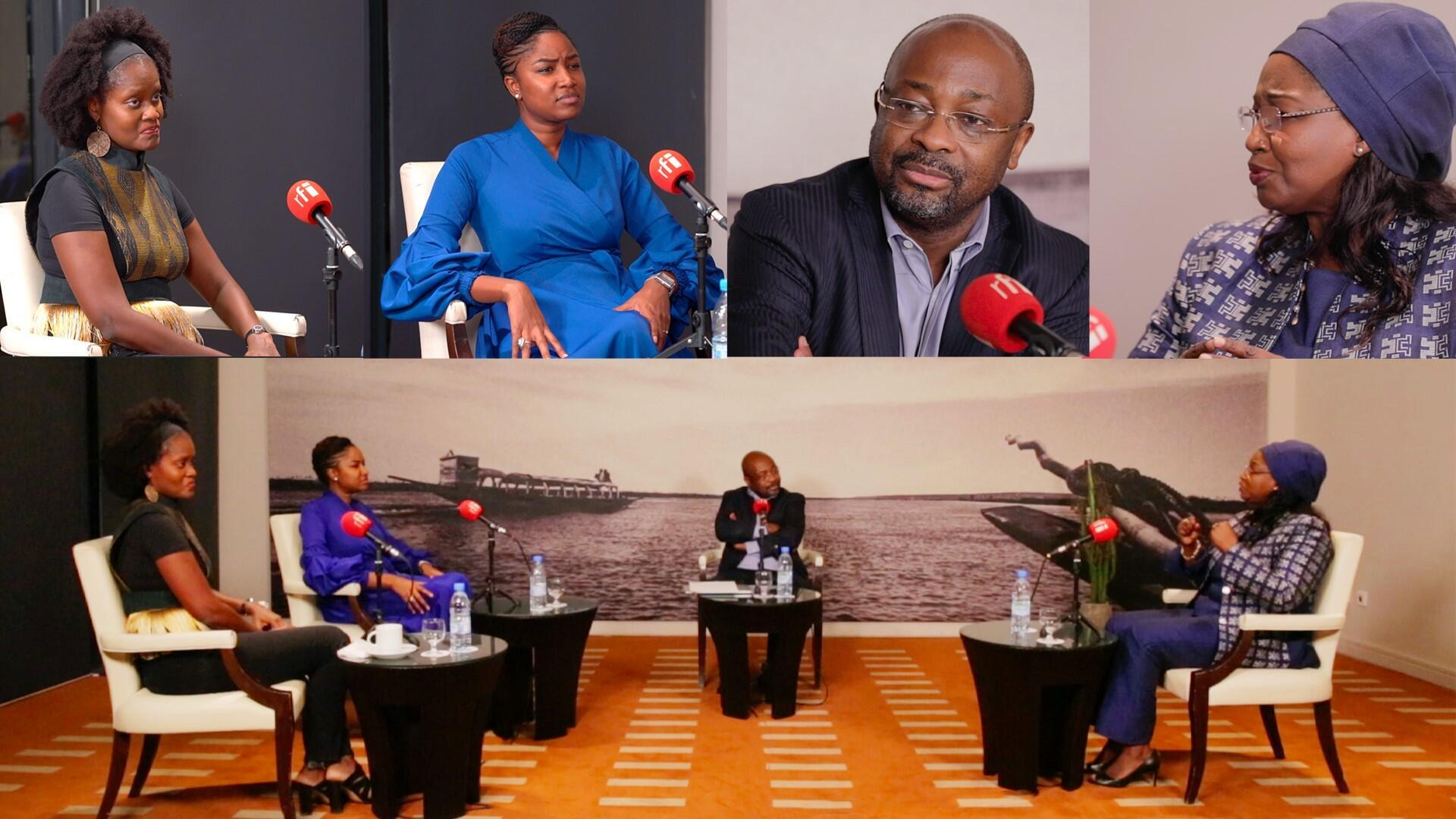 "Enregistrement à Dakar du débat africain spécial ""leadership féminin"""