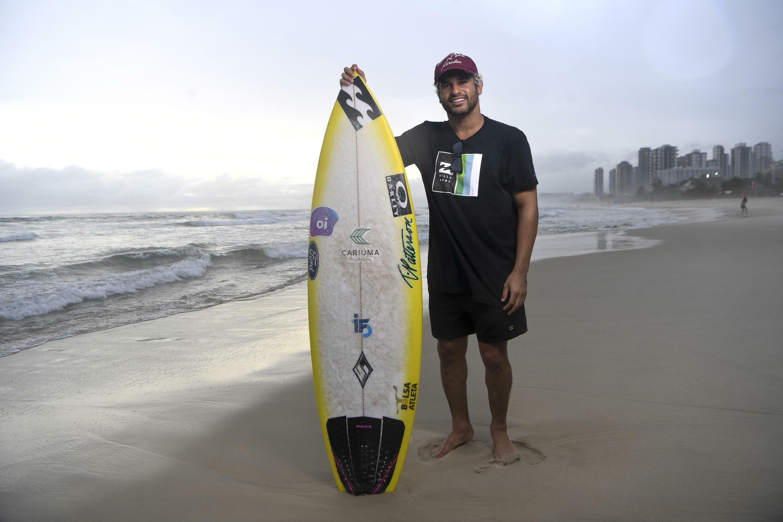 En su debut, el surfista brasileño Italo Ferreira es uno de los favoritos para la medalla de oro.