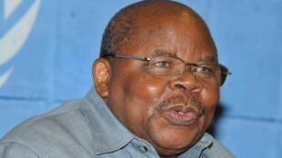 Benjamin Mkapa, ancien président tanzanien et jusqu'ici de l'EAC, cède sa place à l'issue du sommet d'Arusha, le 1er février 2019.