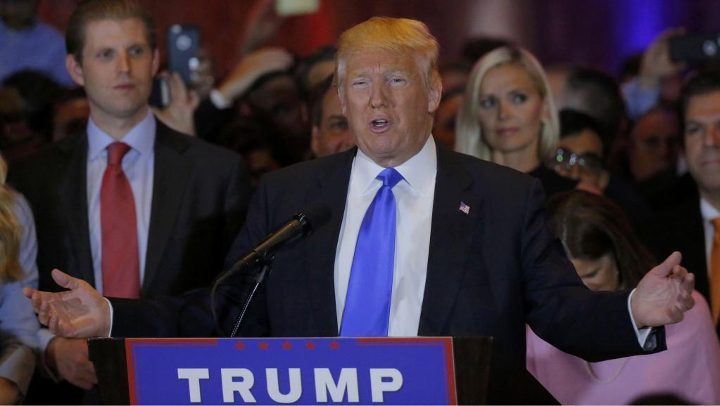 O candidato republicano Donald Trump