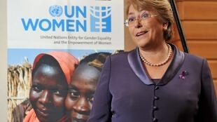 Michelle Bachelet, directora ejecutiva de ONU Mujeres.