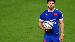 Romain Ntamack was one of the France stars of the 2020 Six Nations tournament but injury and the form of Matthieu Jalibert prevented more appearances in the 2021 competition.