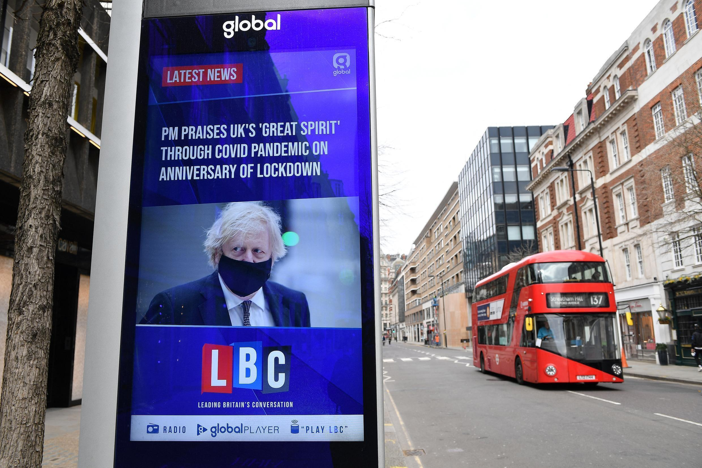 Londres Boris Johnson