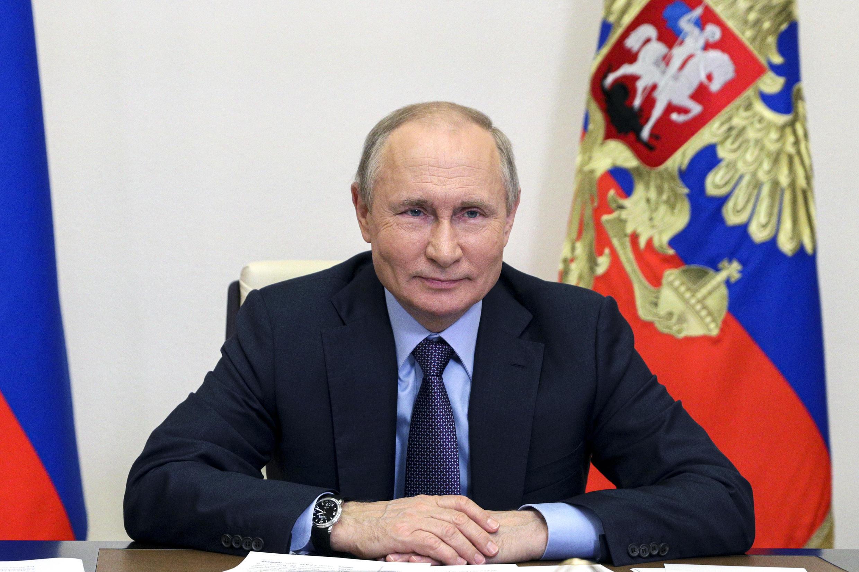 Russie - Poutine - AP21160503642332