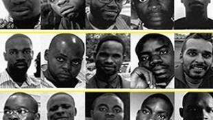 Presos em Angola desde 20 de Junho