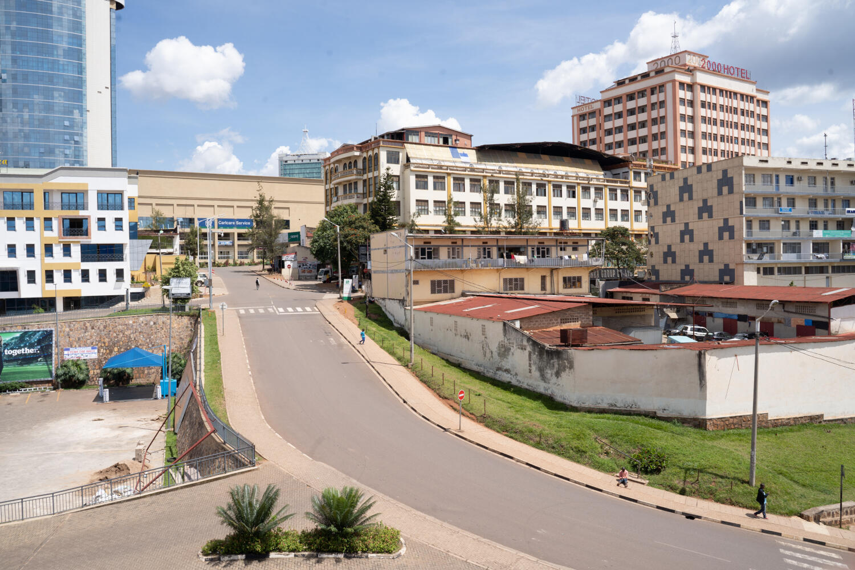 Rwanda - rue - vide - coronavirus covid - confinement