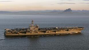 Hàng không mẫu hạm USS George H. W. Bush. (Ảnh do Hải quân Mỹ cung cấp)