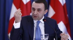 Пресс-конференция Ираклия Гарибашвили в Тбилиси 16/01/2014